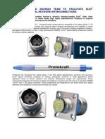 PROTOKRAFT Introduces Sabre Series 11-02 Optical Transceivers