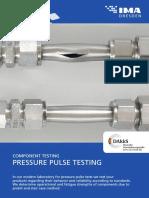 IMA Flyer Pressure Pulse Testing