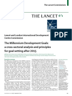 Mdg X-sectional Analysis
