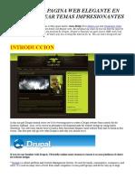 Crear Una Pagina Web Elegante en Drupal y Crear Plantillas Impresionantes