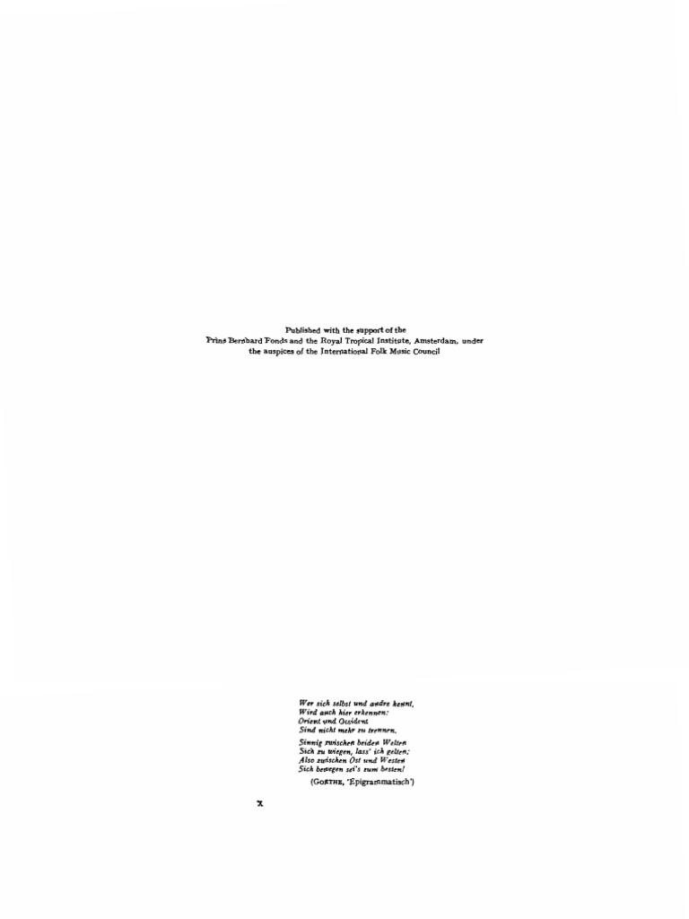 Kunst, Jaap - Ethnomusicology   Interval (Music)   Fraction ...