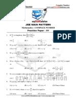 01 Complex Number Paper 1