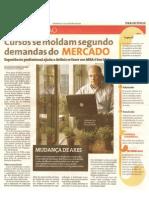 Matéria na Folha de São Paulo em 31 de Janeiro de 2010