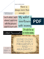 Wealth Affirmations collection