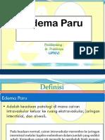 Edema Pulmo - UPN
