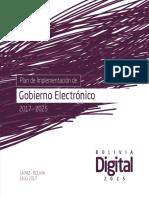 2 Plan de Implementacion de Gobierno Electronico