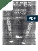 Galper Clarinet - Book2