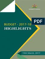 Budget Highlights Eng2017-18