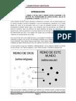 Cosmovisión Cristiana - Clases