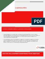 Presentatie E-legal Incasso Advocaten