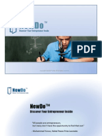 NewDo Recruiting Brochure 2010