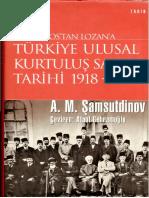 Turkiye Ulusal Kurtulus Savasi 1919-1923