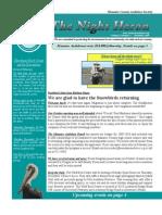 Dec 2009 Night Heron Newsletters Manatee County Audubon Society