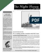 Feb 2009 Night Heron Newsletters Manatee County Audubon Society