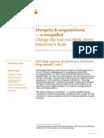 PwC - Snapshot Asset vs Business