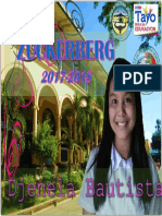 Cover Page by Djenela Sophia b. Mabagos