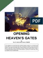 Opening Heaven's Gates