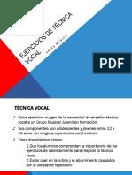 Técnica Vocal
