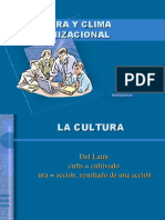 Cultura y Clima Organizacional