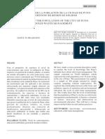 Conocimientos De La Población De La Ciudad De Puno Sobre Gestión de residuos sólidos