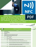 Global Near Field Communication (NFC) Market Forecast 2022 - Brochure