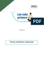 teoría sistemica relacional