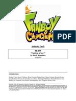 """""""Fanboy A'Hoy"""" Animatic Draft"""