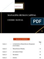 MHC - Course Manual
