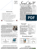 November 2008 Scrub Jay Newsletter Marion Audubon Society