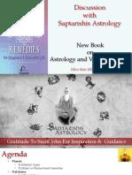Saptarishi Astrology - Astro and Vastu Remedies - Part 2 Interview