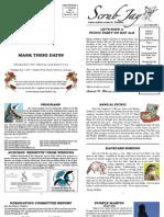 May 2009 Scrub Jay Newsletter Marion Audubon Society