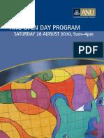 Open Day Program 2010