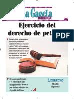 Ejercicio Del Derecho de Petición - Silencio Administrativo - Jose Maria Pacori Cari