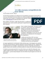 Para Fachin, Moro Não Usurpou Competência Do STF Ao Gravar Dilma