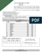 Analiza Testelor Initiale La Istorie 17-18