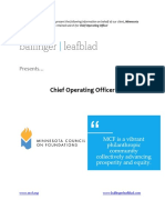 Minnesota Council on Foundations - Chief Operating Officer
