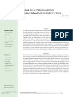 Educação Médica Nos Tempos Modernos