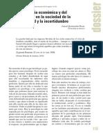 La Psicología Económica y Del Consumidor en La Sociedad de La Incertidumbre y La Complejidad