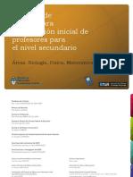 Proyecto Formacion Incial de Docentes Quimica Edu.ar