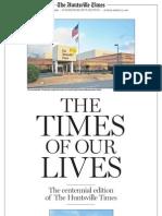 The Huntsville Times 100th Anniversary Commemorative Edition