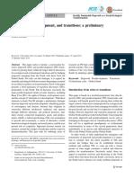 Degrowth, postdevelopment, and transitions
