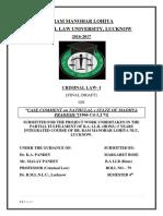 (Yash) Criminal Law Final Draft
