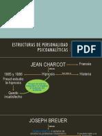 Estructuras de Personalidad Psicoanalíticas