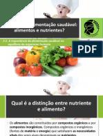 4- Alimentação saudável