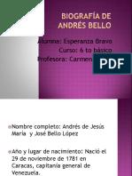 Biografía de Andrés Bello