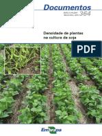 Densidade de plantas na cultura da soja