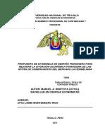 Gestion financiera para mejorar los mypes Montoya Manuel