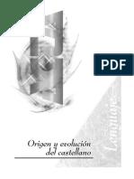 José Manuel Hoidobro - Origen y Evolución Del Castellano