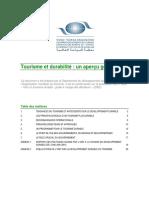 Introduction Au Tourisme Durable (Omt Pnue) 1158244167377
