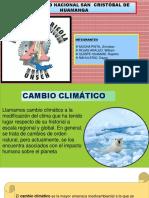 Diapositiva Cambio Climático